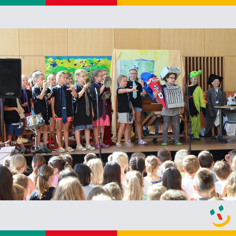 Maximilian-Grundschule: Musical mit Ritter Rost